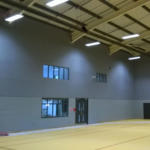 Softsound Liner System in sports hall