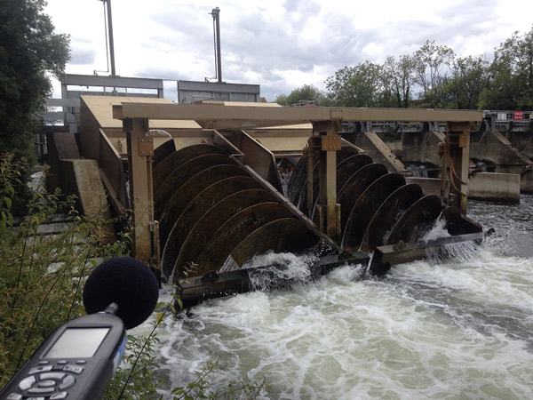 River Thames Turbine Installation Sound testing